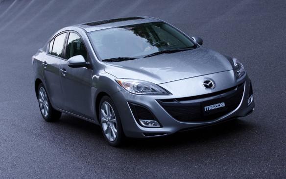 <p>2010 Mazda3 sedan</p>