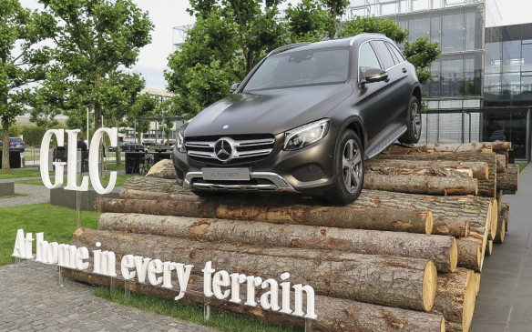 <p>2016 Mercedes-Benz GLC</p>