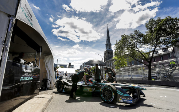 "<p>According to Barclay, the Panasonic Jaguar Racing team is learning in its first year and its plan is to catch up to the other teams who've been participating for all three years.</p> <p>""Formula E is incredibly challenging and ultimately we're here to be successful and we won't rest until that the case. Next year is another step in our journey, and we will be fighting in that lead pack,"" he promises.</p>"