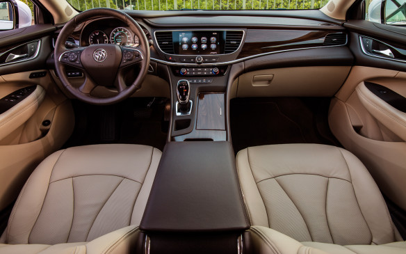 <p>It's very, very quiet inside the cabin of the new LaCrosse. Buick targeted the Lexus ES350 as the car to beat for keeping out road and engine noise.</p>