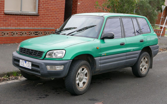 <p>Toyota's little 1998 RAV4 4WD SUV was their fourth-favouite.</p>