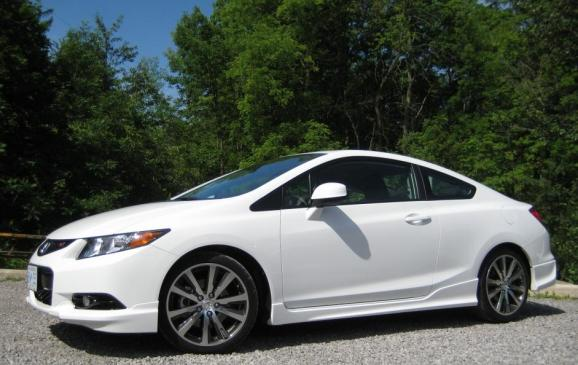 2012 Honda Civic Si HFP - almost side view