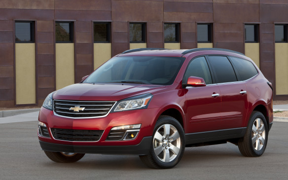 <p><strong>2009-13 Chevrolet Traverse</strong></p> <p>General Motors replaced its creaky minivans with trendy crossover sport-utes that offered most of the practicality of the departed vans. Built on the super-rigid Lambda unibody platform, base models of Chevrolet's Traverse were front-wheel-driven, with all-wheel-drive being a popular option. It could swallow seven or eight occupants, depending on the seating configuration. Propulsion was provided by a 3.6-L DOHC V-6 engine fortified with direct injection, making 281 hp channeled through a six-speed automatic transmission.</p>