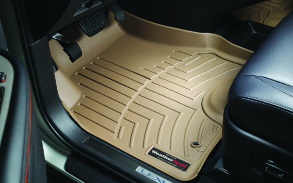 <p>The winter crud we inevitably track into our vehicles not only plays havoc with the appearance of the carpets, it can lead to corrosion in the long trm. Heavy-duty floor mats with lips to contain slush go a long way to help protect your carpets and they're much easier to clean. Just be sure the mats are designed specifically for your exact model and that they lock into place. Otherwise, they can easily get in the way of the pedals, potentially contributing to 'unintended acceleration' or preventing full brake application. This is not the place to skimp!</p>