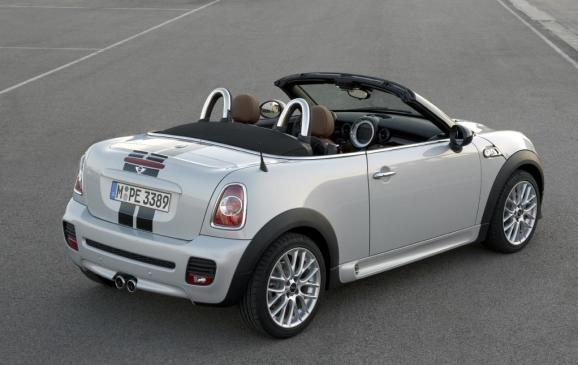 2012 MINI Roadster - Rear - White
