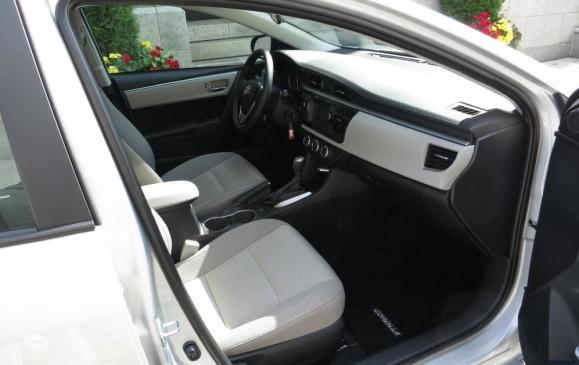 2014 Toyota Corolla - front seat