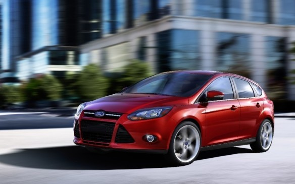 <p>The new global-platform Ford Focus – available as a four-door sedan and five-door hatchback – was launched early in 2011, thrusting Ford back in the hunt in the small-car segment after retiring the previous long-in-the-tooth Focus. The European-bred compact was universally acclaimed by the automotive press for its driving dynamics. The direct-injected 2.0-L DOHC four-cylinder engine produced 160 hp and 146 lb-ft of torque, working through a five-speed manual transmission or six-speed sequential gearbox that emulated an automatic. (The high-performance ST, introduced for 2013, used a 252-hp 2.0-L turbocharged four-cylinder engine.)</p>