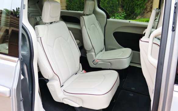 "<p>The interior of the Pacifica is eerily quiet on the road with an almost complete absence of wind or road noise. Much of the credit goes toits standard noise-cancellation system, with its slippery shape and best-in-class aerodynamics playing a role as well. There are triple door seals, an acoustic headliner and plenty of ""quiet steel"" in the Stow 'n Go tub.</p>"
