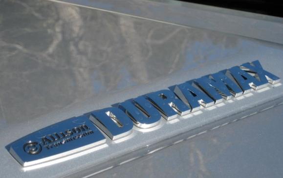 2015 GMC Sierra HD - Duramax logo