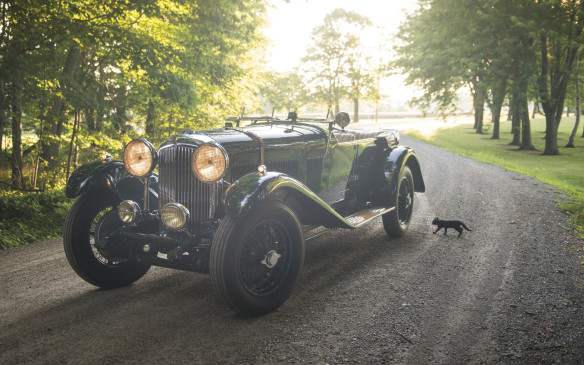 <p>From the same era but the other side of the Atlantic, this 1932 Bentley 8-Litre Tourer by Vanden Plas drew a winning bid of $1,705,000 (USD).</p>