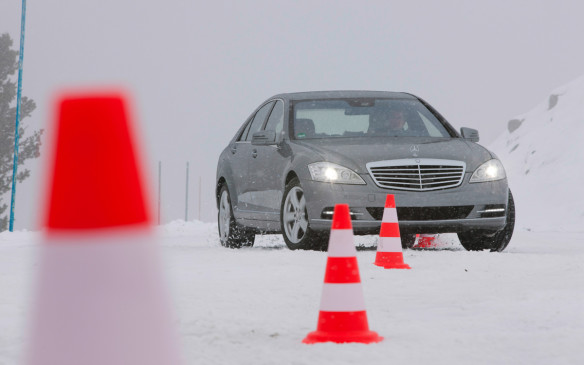 <p>Winter driving tips from a pro - at the Mercedes-Benz Driving Academy.</p> <p>By Clare Dear</p>