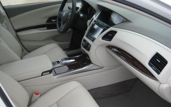 2015 Acura RLX - front seats passenger side