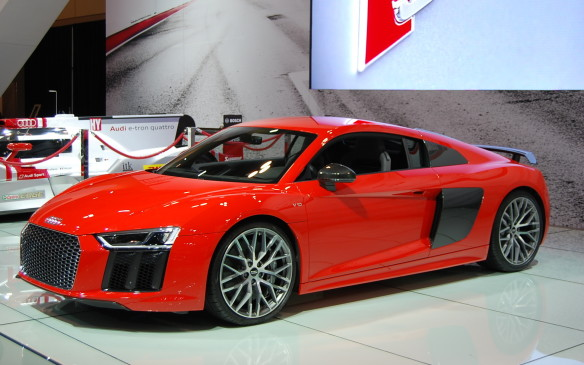 <p>For those just looking to swoon, to dream of driving fast, who dream in red, the Audi R8 was put here, in this exact space for you.  Can anyone say IronMan?</p>