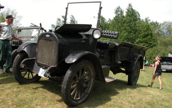 <p>1918 was the very first year that Chevrolet made trucks.</p>
