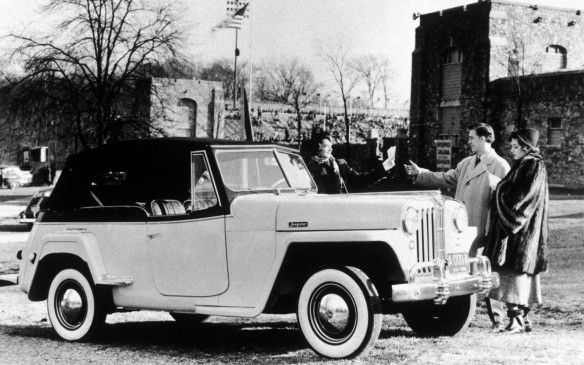 <p>Jeep even made the sportier and more elegant Jeepster for three years from 1948. It was the last phaeton-style open-bodied car to be made by a U.S. manufacturer.</p>