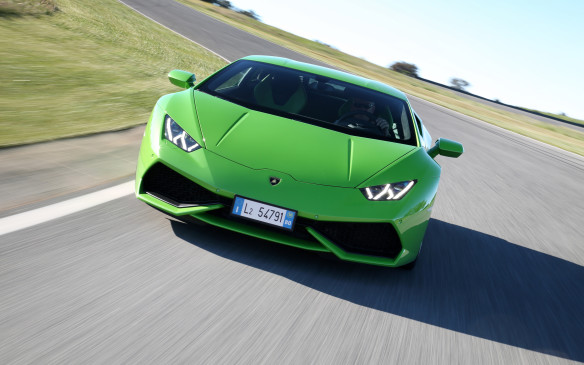 <p>The NFL's Seattle Seahawks seem to epitomize the Lamborghini Huracán. This comparison is based on the Seahawks success over the last decade, which has been achieved by an exciting, yet a little cocky brand of football. The Huracán has a level of refinement, power and and expert craftsmanship, but it lets you know it's there thorough its angle cuts and sound.</p> <p>We could have gone with the Aventador, but the Seahawks have developed their core group of stars through the draft, as opposed to bringing in expensive free agent signings, thus making the Huracán, a more suitable choice.</p>