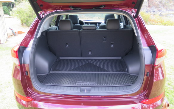 <p>The new Tucson has 149-litres more cargo space than the current model.</p>