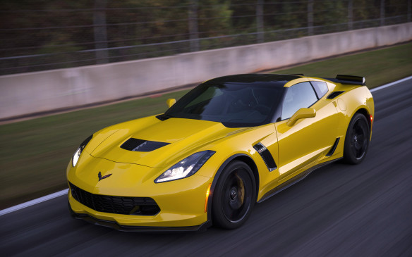 <p>With a supercharged 6.2-litre V-8 engine, rated at 650 horsepower and 650 lb-ft of torque, the Z06 is the ultimate road-going Corvette. It even includes a Driver Mode Selector, which allows for customization of vehicle performance dynamics with the turn of a knob.</p>
