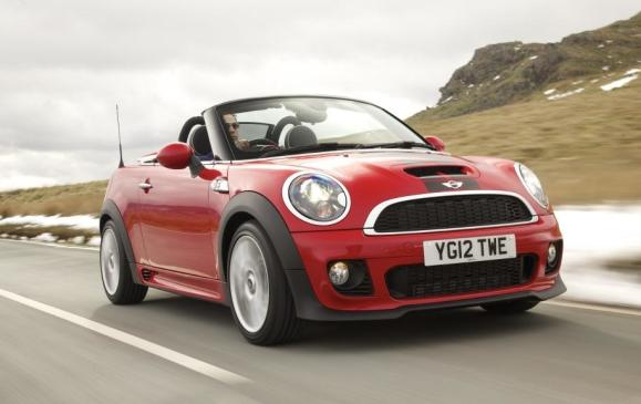 2012 MINI Roadster - Front