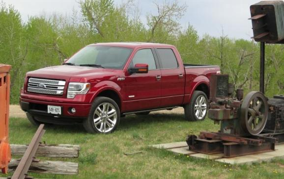 2013 Ford F-150 Limited - front 3/4 beauty shot