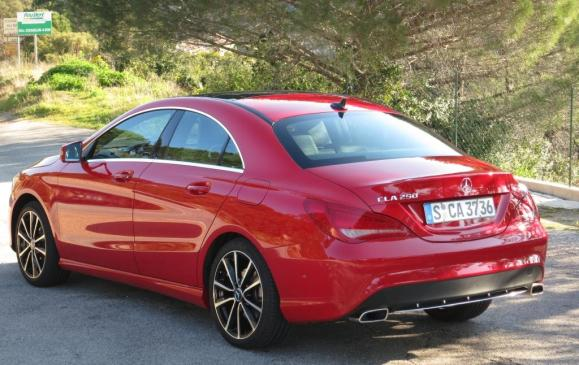2014 Mercedes-Benz CLA - rear 3/4