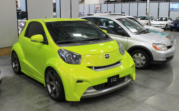 <p>The subcompact iQ was even more distinctive, but the youth-oriented brand didn't last. Toyota shut it down this year.</p>