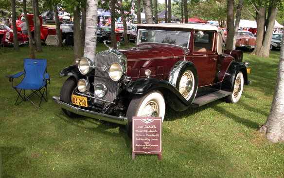 <p>Among all the rods and customs, and more modern collector cars, there were a few genuine Classics..</p>