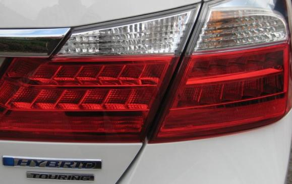 2014 Honda Accord - rear tail lamp detail