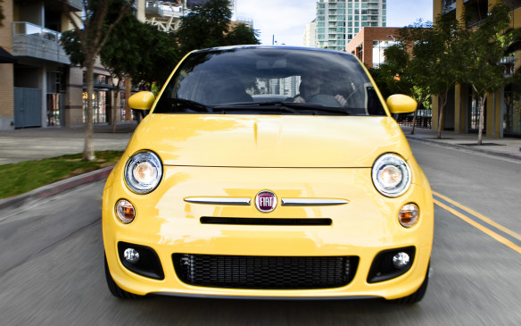 <p><strong>Fiat 500 – $13,995 – </strong>Poor Fiat's Canadian entrance hasn't gone entirely to plan, but there's something to be said about its bite-size 500 starting at a fraction under $14,000. Its compact footprint and tidy turning circle give it a leg-up in urban chaos, although the back seats are best left for kids or enemies. The 1.4-litre Multiair four-cylinder produces 101 horsepower, and a five-speed manual transmission is standard equipment. Even base Pop models get power niceties and a six-speaker audio system, although air conditioning and a six-speed automatic transmission are available options.</p>