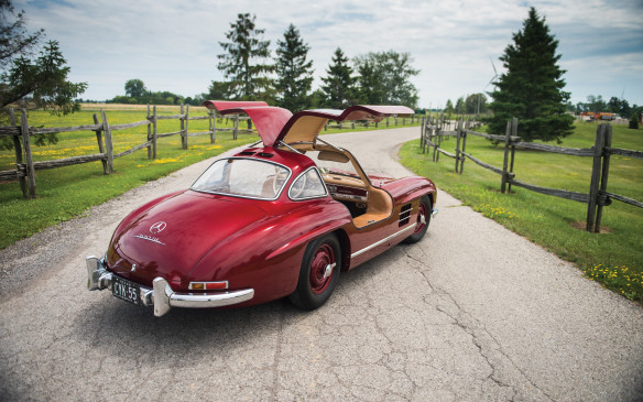 <p>This iconic 1954 Mercedes-Benz 300 SL Gullwing barely topped the million-mark, selling for $1,045,000 (USD). All prices include a Buyer's Premium collected by the auction companies.</p>