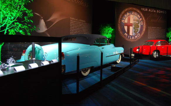 """<p>Another great feature of <a href=""""https://autofile.ca/en-ca/car-photos/goddesses-and-gazelles-highlight-classic-car-display-at-cias"""">Artand the Automobile</a> is an exhibit of vehicle mascots themselves - many of which are now worth more than the cars most of us drive. Throughout history, we've seen these symbols change numerous times, but overall they have become icons for each of their respective brands, synonymous with the beauty and pageantry of the brands themselves. The car seenhere is a rare1953 Cadillac Eldorado Convertible Coupe.</p> <p></p>"""