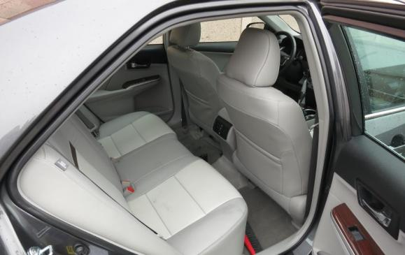 2012 Toyota Camry - Rear Seat