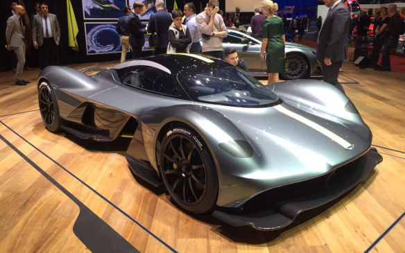 <p>Faster than an F1 car, the $4-million-plus (CDN) Aston Martin Valkyrie is a newly renamed version of the AM-RB 001 concept car that appeared recently at the Canadian International Auto Show. Destined for limited production, its carbon-fibre structure will be constructed in Canada by Multimatic, which also builds the Ford GT. The Valkyrie is powered by a high-revving V-12 engine, built by Cosworth, and packs as much F1 technology as you can squeeze into a road-legal car.</p>