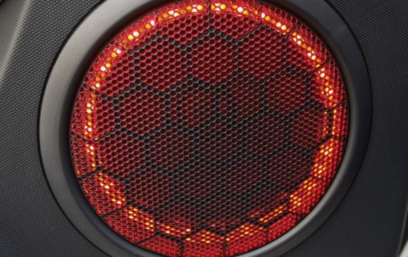 2013 Kia Soul - audio speaker detail