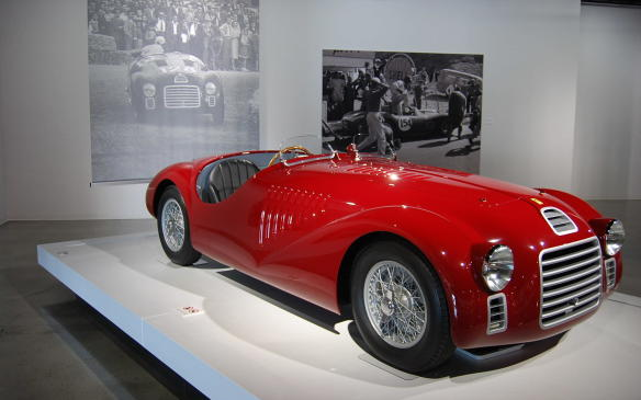 <p>Back to the beginning, the125 S was not only the first Ferrari production car, it was the first one powered by the now-legendary Ferrari V-12 engine. It failed to finish its first ever race but Enzo claimed the marque's first victory with it at a circuit in Rome soon after.</p>