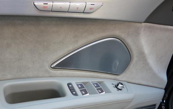 2015 Audi A8 - driver's door detail