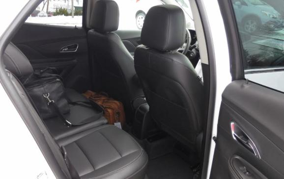 2013 Buick Encore - rear seat