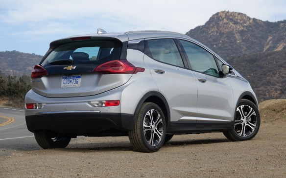 <p>The Bolt EV's rear hatch complements its sloping roofline nicely. Yet, it is also deceptively practical. By integrating the LED-powered taillamp clusters on the 'liftgate', designers were able to cut out a wide and low opening underneath that makes loading and unloading stuff easy.</p>