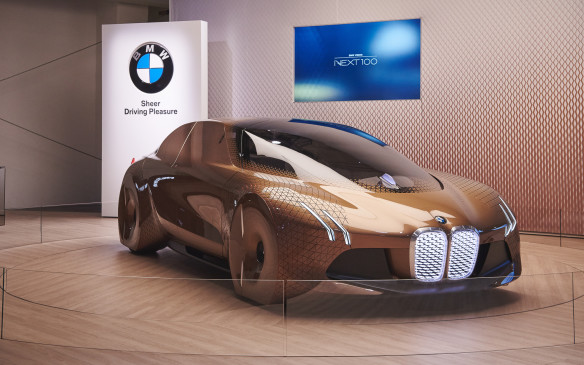 <p>The first to be seen was a car, which it calls the Ultimate Driver – perfectly fitting for the BMW brand itself.</p>