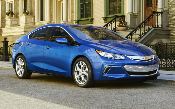 <p>Chevrolet Volt with<strong> </strong>668 points was the third place finisher in the class.</p>