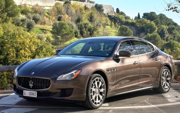 <p><strong>2015 Maserati Quattroporte S Q4 –</strong> The Quattroporte S Q4 might be the most Canadian-friendly car in the Maserati lineup. Why? Standard all-wheel drive, along with a potent twin-turbo V-6 engine with 410 horsepower that can hit 100 km/h in less than five seconds. Add in a well-crafted interior with a large back seat, and entertaining driving character, and it's an exciting prospect.</p>