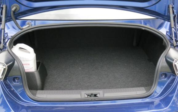2013 Scion FR-S - trunk
