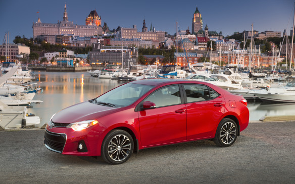 <p><strong></strong>Despite a 7.5% decline in sales to 8,351 cars, Toyota's compact Corolla has a firm hold on third place in passenger car sales and ranks #9 overall.</p>