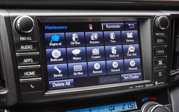 <p>The 2016 RAV4 is available with a wide variety infotainment systems with screens ranging in size from four to seven inches. Navigation is widely available and the top sound system is by JBL.</p>