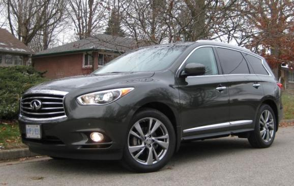 2013 Infiniti JX35 - front/side view low