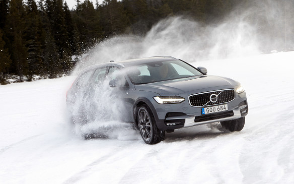<p>Volvo chose the frozen roads and lakes of Sweden, rather than the usual sun-drenched Spanish or Californian asphalt, for the global launch of its all-new V90 Cross Country. Why? To show how capable, comfortable and exciting it can be, even in the harshest driving conditions. It certainly slides on ice with the best of them!</p> <p>By Marc Lachapelle</p>