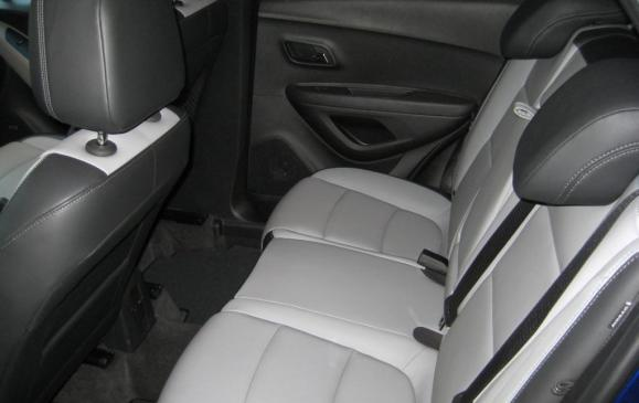 2013 Chevrolet Trax - rear seats