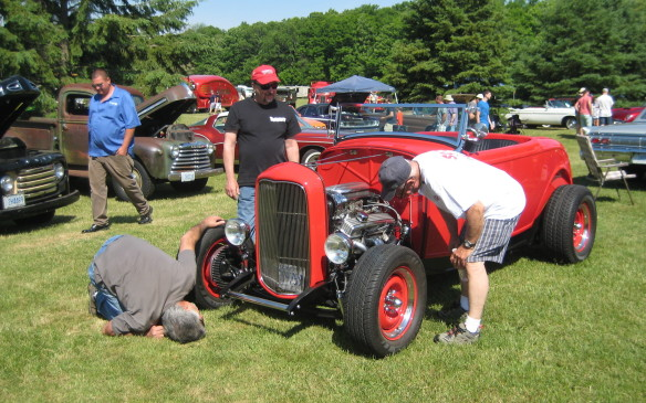<p>Cars of every kind at the 2015 Fleetwood Country Cruize-in</p>