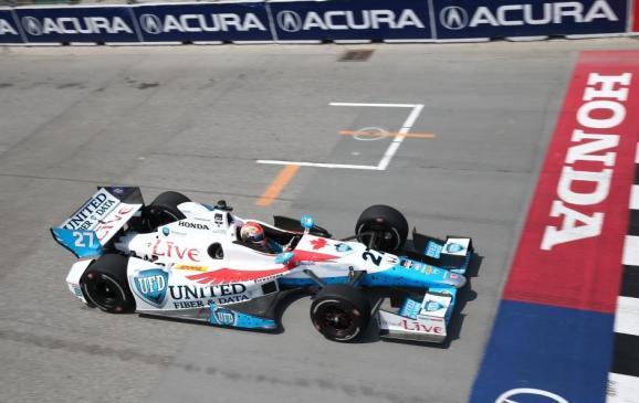 James Hinchliffe, Honda Indy  Toronto, 2014