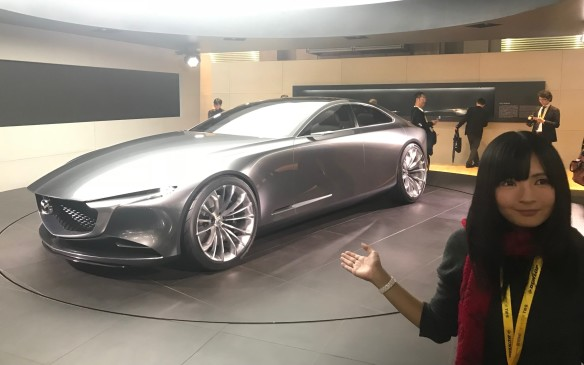 <p>Mazda's sleek and sexy Vision Coupe concept is still just an idea of what future sedans might look like from the auto maker, but let's hope the essence of that svelte form makes it into real cars.</p>